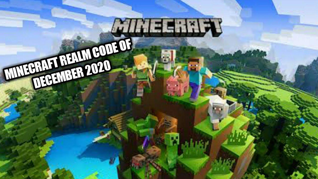 Minecraft Realm Code December 2020 Youtube