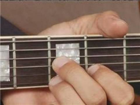 Play G Dim Chord On The Top Guitar Strings 1st Inversion Guitar
