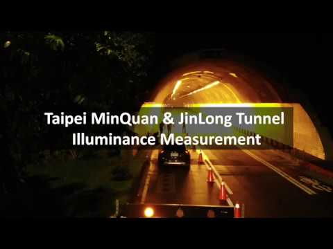 Luminance Measurement at Taipei MinQuan & JinLong Tunnel