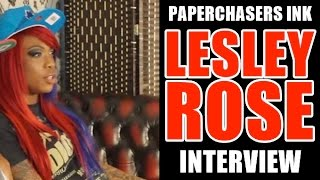 PAPERCHASERS INK - LESLEY ROSE - INTERVIEW