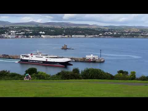 Isle of Man, Douglas, port
