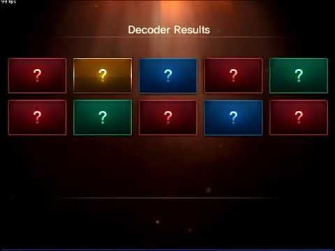 CSNZ - New Decoder Opening System【2】
