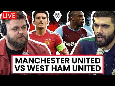Manchester United 1-0 West Ham | LIVE Stream Watchalong