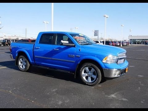 new holland blue 2018 ram 1500 harvest for sale dayton troy piqua sidney ohio 28142t youtube. Black Bedroom Furniture Sets. Home Design Ideas
