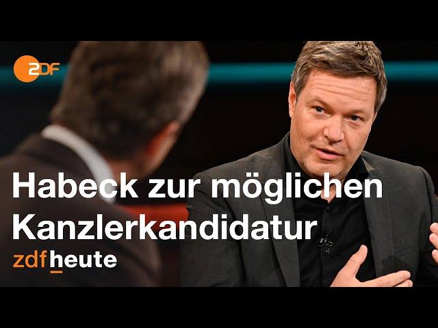 Robert Habeck zur möglichen Kanzlerkandidatur   Markus Lanz vom 24. November 2020