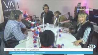 EN VIVO: Así vivió el terremoto Javiera Acevedo y Pablo Zuñiga