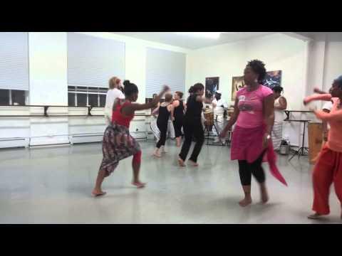 Afro Brazilian Dance class by Cleonice Fonseca