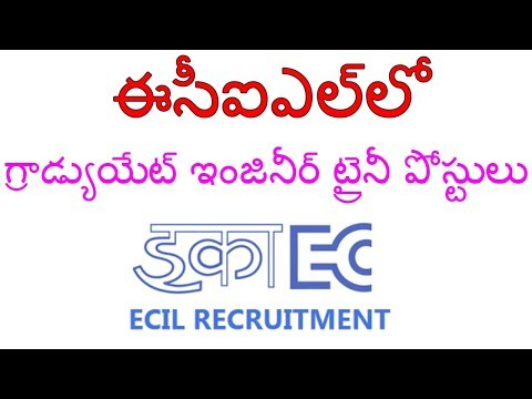 ECIL RECRUITMENT FOR 84 GRADUATE ENGINEER TRAINEE Vacancys IIBy IndiaJobs CareersII