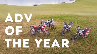 Adventure Bike Of The Year 2019 - Yamaha T700 vs KTM 790 ADVR vs Africa Twin 1100 vs R 1250 GS Rally