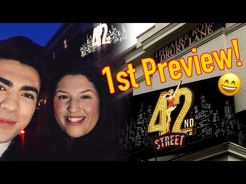 The FIRST Preview of 42nd Street! 👯✨ REVIEW