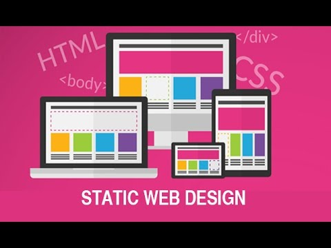 How to Make a Basic Static Web Design Project