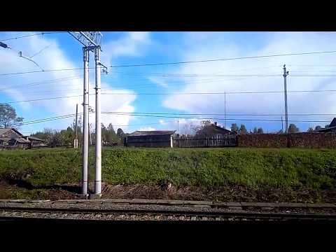 Брантовка. Россия из окна поезда.