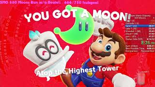 Super Mario Odyssey 503 Moons Speedrun in 4:10:23