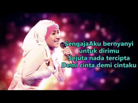 Fatin Shidqia Lubis  -  Demi Cintaku _  Official  Lyrics Video @ 2015