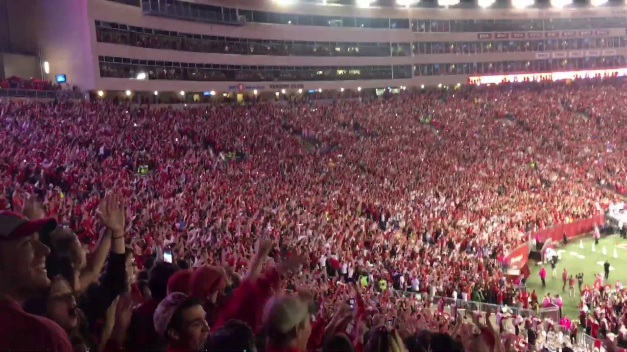 Wisconsin S Jump Around Vs Ohio State 2016