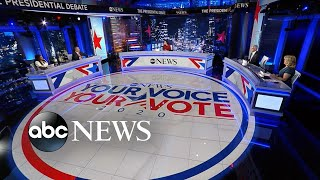 ABC News' Powerhouse Politics roundtable breaks down 1st presidential debate