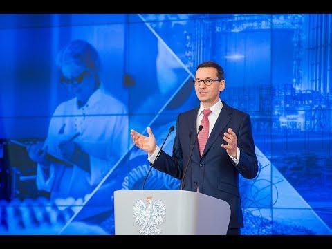 Mateusz Morawiecki podczas spotkania dotyczącego Konstytucji Biznesu