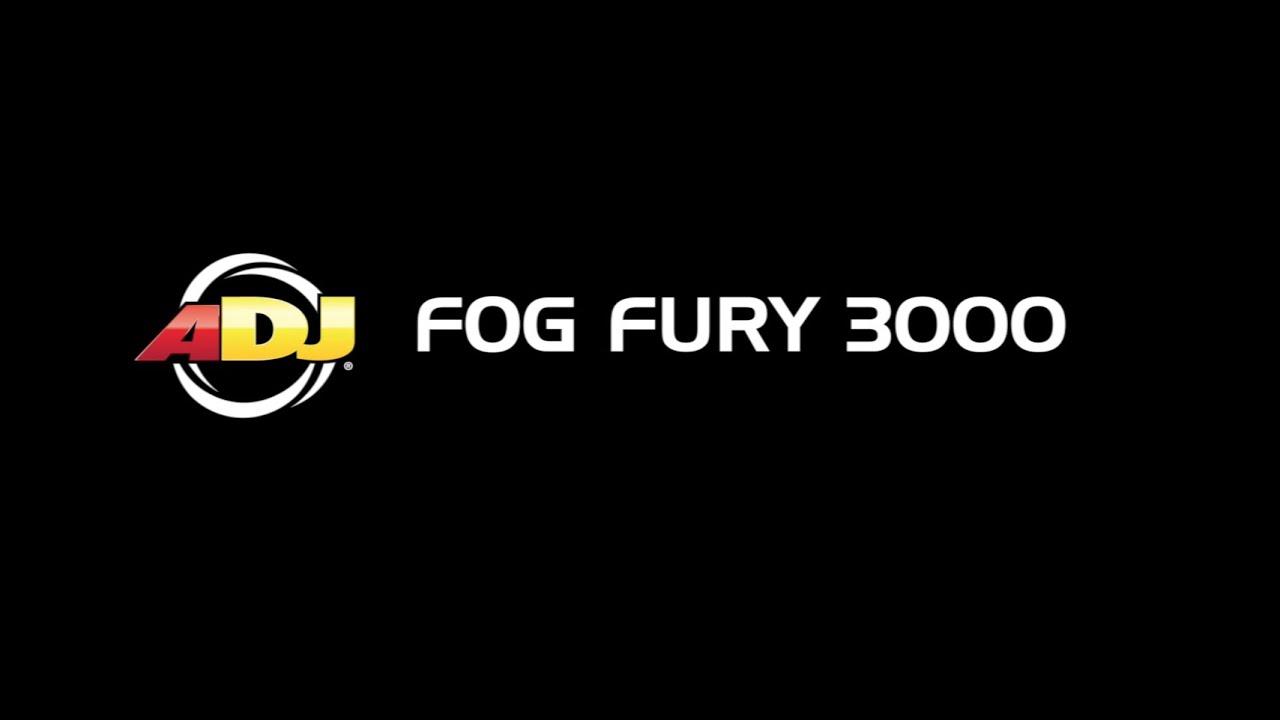 ADJ Fog Fury 3000 Advanced Fog Machine - 1500W Professional