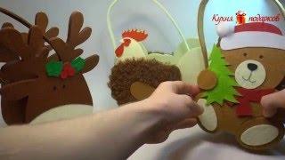 видео Новогодние корзины