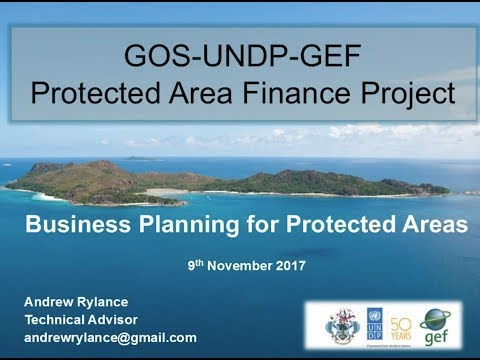An Introduction to Business Planning for Protected Areas