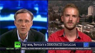 Stop Calling Bernie a Socialist!