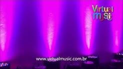 Canhao Refletor Par 64 54 Leds Cree Optipar Rgbw - www.virtualmusic.com.br