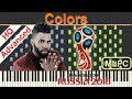 Jason Derulo - Colors (2018 FIFA World Cup Anthem) I Piano Tutorial & Sheets by MLPC