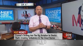Jim Cramer reveals 'quick and dirty' Wall Street tricks for buying cloud stocks