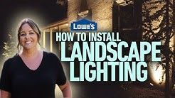 How to Install Landscape Lighting (w/ Monica from The Weekender)