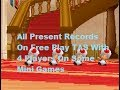 Mario Party DS - All Present Mini Games On Free Play [TAS] With 4 Players On [Some Mini Games]