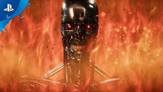 Mortal Kombat 11 | Terminator T-800 Gameplay Trailer | PS4
