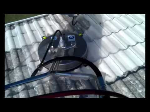 Roof tile cleaning Water pressure and jetting services 04 2014