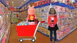 КЭТИ ИГРУШКИ СВИНКА ПЕППА Katy TOYS PEPPA PIG Катя Влог # 24