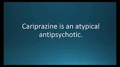 How to pronounce cariprazine (Vraylar) (Memorizing Pharmacology Video Flashcard)