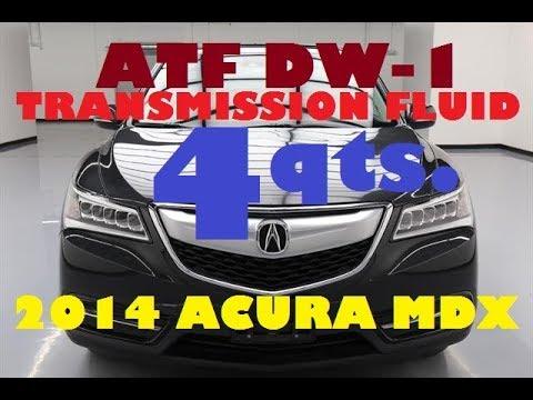 ATF DW Transmission Fluid Drain Fill Acura MDX YouTube - Acura mdx transmission fluid