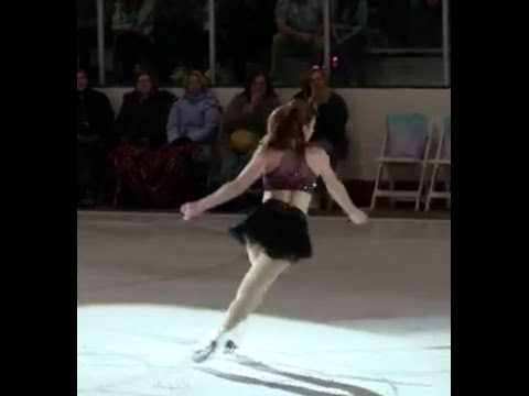 Christine Brennan Interviews Ashley Wagner at 2015 ICE Champions LIVE