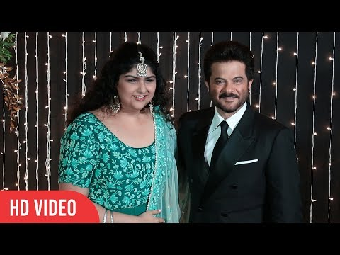 Anshula Kapoor With Uncle Anil Kapoor At Priyanka-Nick Jonas Wedding Reception