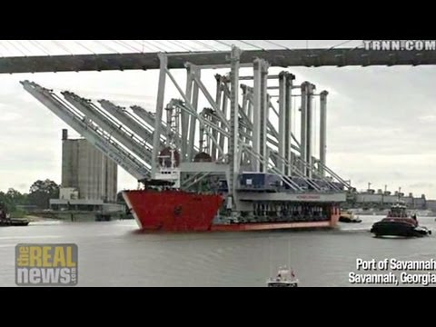 From Savannah to South Africa, Opposition to Massive Port Expansions