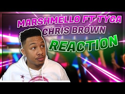 Marshmello - Light It Up Ft. Tyga & Chris Brown (Official Music Video) Reaction Video
