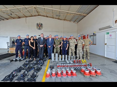 UNIFIL donates firefighting and rescue assets to Lebanese Civil Defense