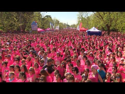 Unas 35.000 mujeres corren contra la violencia machista en Madrid