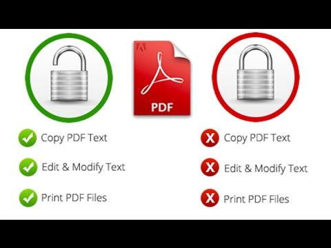 Unlock Your Pdf Free And Feel Free To Print And Copy For Secured Pdf (bangla Tutorial)