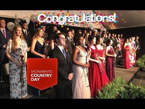 2019 Sacramento Country Day School High School Graduation