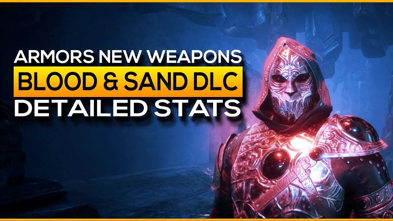 All You NEED to Know about Weapons and Armors in Blood and Sand DLC   Conan  Exiles