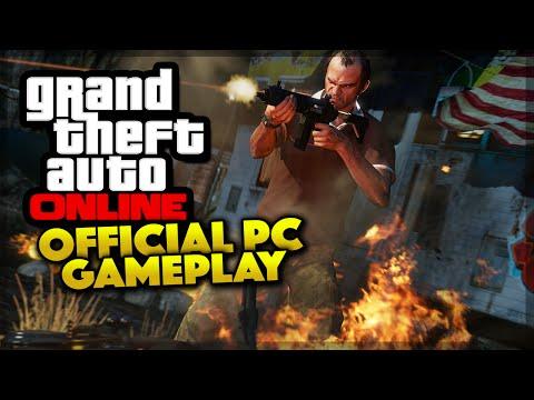 GTA 5 Online - NEW PC GAMEPLAY OFFICIAL SCREENSHOTS! (GTA 5 Gameplay)