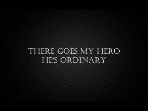 Foo Fighters- My Hero Lyrics