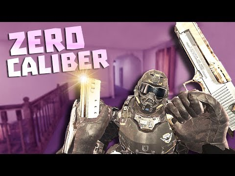 VIRTUAL REALITY AT ITS BEST - ZERO CALIBER VR FUNNY MOMENTS PART 2