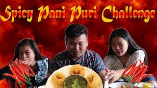 extream pani puri challenge