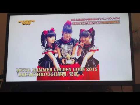 "BABYMETAL ON JAPANESE TV ""JAPAN COUNTDOWN"" 2017/06/11"