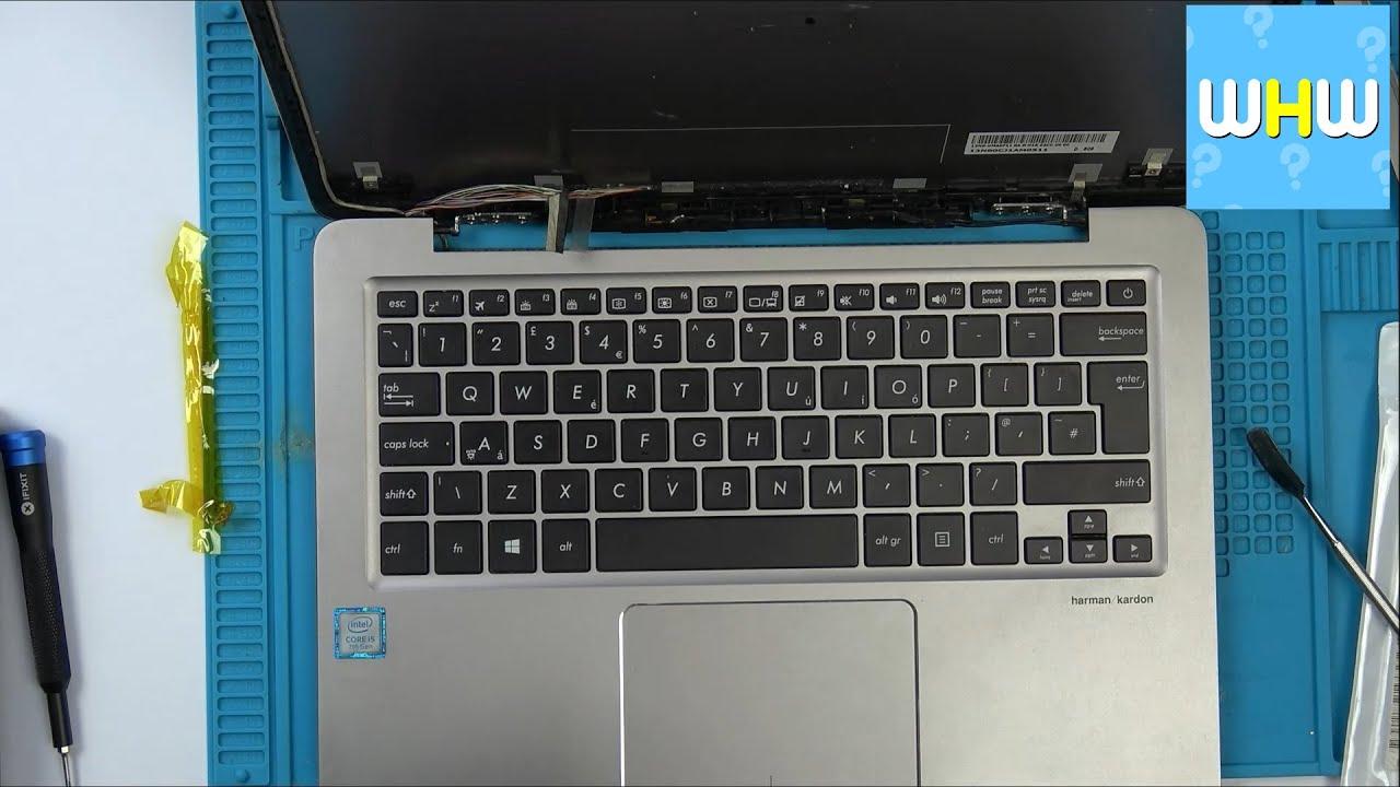ASUS UX310U Laptop Screen Cable Repair